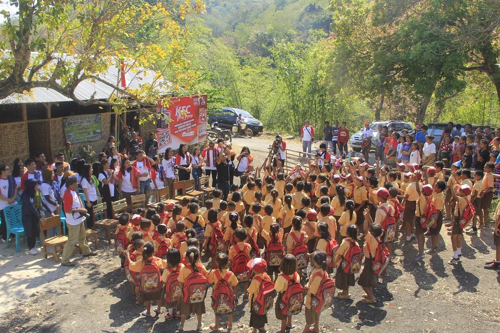 KFC Indonesia dan Komunitas 1000Guru Perluas Wilayah Smart Center Project  Ke Berbagai Wilayah Pedalaman Indonesia